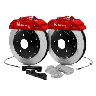 KSport® - ProComp Slotted Floating Front Brake Kit