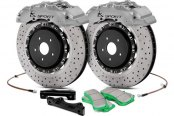 KSport® - SuperComp Cross Drilled Brake Kit with 8 Pistons Calipers