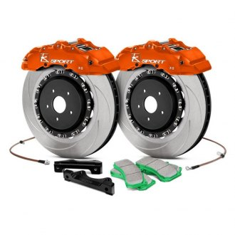 KSport® - SuperComp Slotted Brake Kit