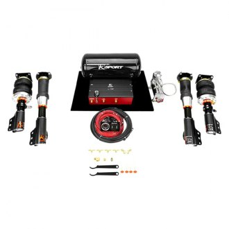 KSport® - Airtech Deluxe Front and Rear Air Suspension System