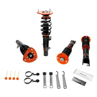 "KSport® - 0.5""-2.5"" x 0.5""-2.5"" Kontrol Pro Front and Rear Lowering Coilovers"