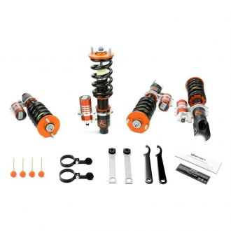 "KSport® - 0.5""-2.5"" x 0.5""-2.5"" Circuit Pro Front and Rear Lowering Coilovers"