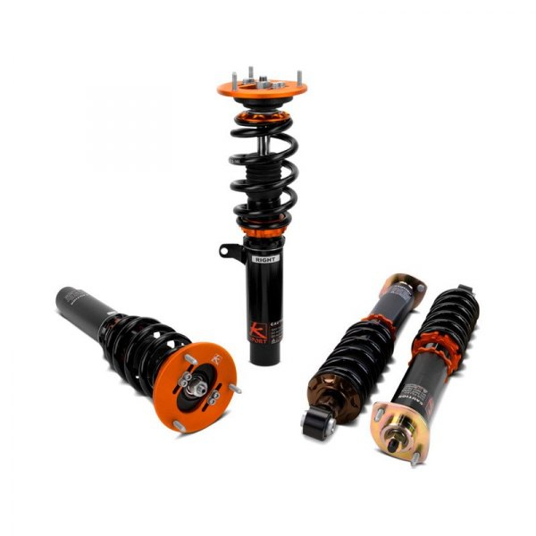 KSport® - Kontrol Pro Front and Rear Adjustable Coilovers - Images May Not Reflect Your Exact Vehicle or Part