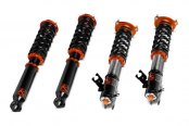 KSport® - Slide Kontrol Drift Front and Rear Adjustable Coilovers - Images May Not Reflect Your Exact Vehicle or Part