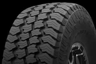 KUMHO TIRES® - ROAD VENTURE AT Tire Protector Close-Up