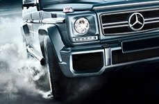 KUMHO® - ECSTA STX Tires on Mercedes G Class