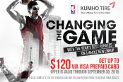 KUMHO TIRES® - Changing the Game Fall Promo
