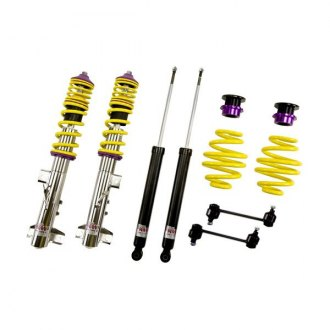 "KW Suspensions® - 1.2""-2.3"" x 0.8""-1.8"" V1 Inox-Line Front and Rear Lowering Coilover Kit"