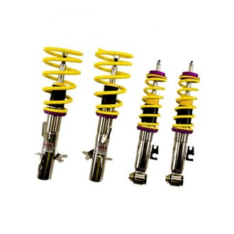 "KW Suspensions® - 1.2""-2.2"" x 1.2""-2.2"" V1 Inox-Line Front and Rear Lowering Coilover Kit"