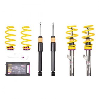 "KW Suspensions® - 0.4""-1.4"" x 0.2""-1.2"" V2 Inox-Line Front and Rear Lowering Coilover Kit"