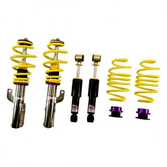 "KW Suspensions® - 0.8""-2"" x 0.8""-2"" V2 Inox-Line Front and Rear Lowering Coilover Kit"