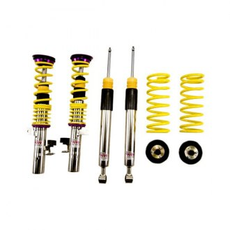 "KW Suspensions® - 1.2""-2.3"" x 1.4""-2.5"" V2 Inox-Line Front and Rear Lowering Coilover Kit"