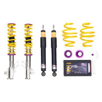 "KW Suspensions® - 1.5""-2.9"" x 1.5""-2.9"" V2 Inox-Line Front and Rear Lowering Coilover Kit"