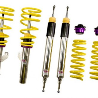 "KW Suspensions® - 0.6""-1.4"" x 0.4""-1.2"" Street Comfort Front and Rear Lowering Coilover Kit"