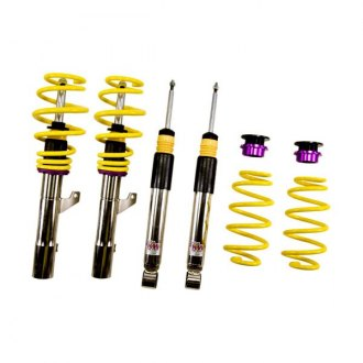 "KW Suspensions® - 0.4""-1.4"" x 0.2""-1.2"" V3 Inox-Line Front and Rear Lowering Coilover Kit"