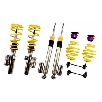 "KW Suspensions® - 0.8""-1.5"" x 0.8""-1.5"" V3 Inox-Line Front and Rear Lowering Coilover Kit"