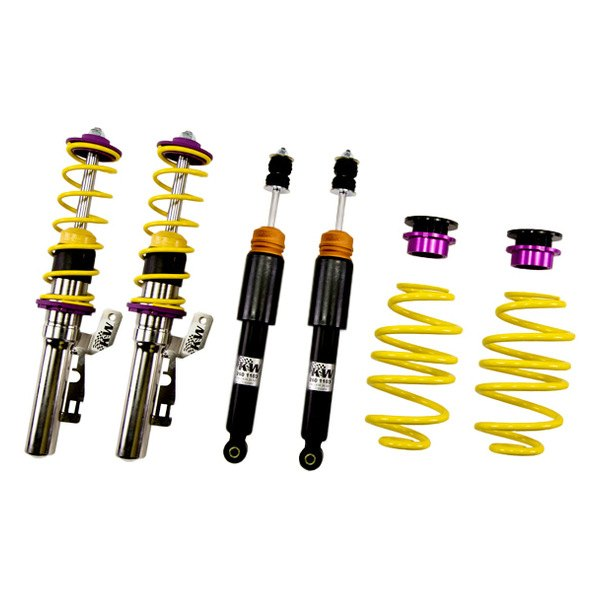 Kw suspensions smart car fortwo 2012 inox line coilover for Suspension inox