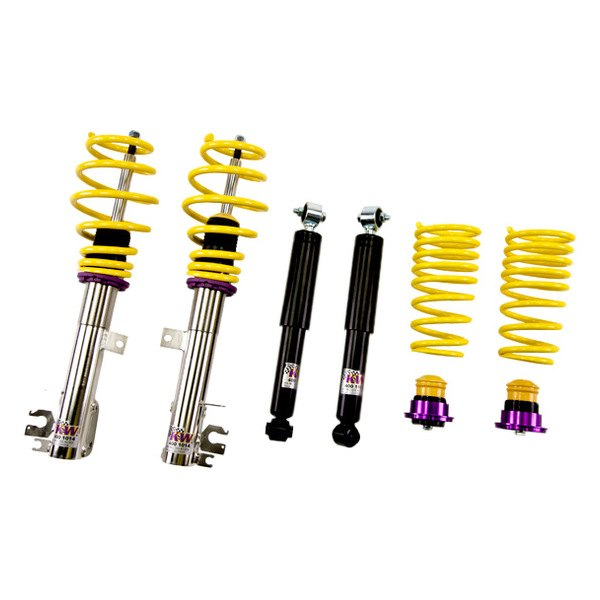 Kw suspensions v1 inox line coilover lowering kit for Suspension inox