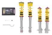 Image may not reflect your exact vehicle! KW Suspensions® - V1 Inox-Line Coilover Lowering Kit