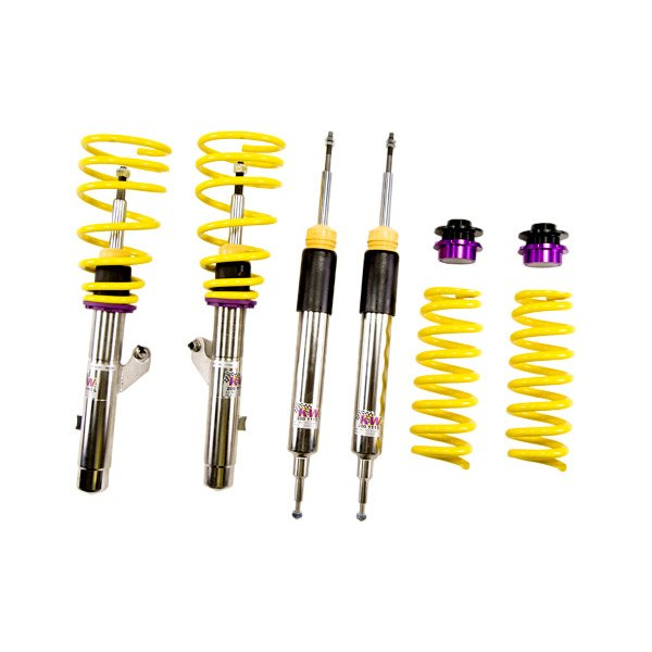 Kw suspensions v3 inox line coilover lowering kit for Suspension inox