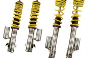 KW Suspensions® - V3 Inox-Line Front and Rear Lowering Adjustable Coilover Kit