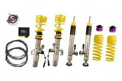 Image may not reflect your exact vehicle! KW Suspensions® - DDC Coilover Lowering Kit (With ECU)