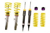 Image may not reflect your exact vehicle! KW Suspensions® - Street Comfort Coilover Lowering Kit