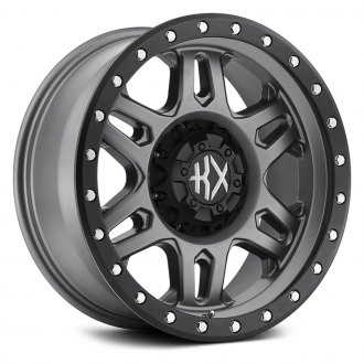 KX OFF-ROAD® - KX04 Matte Gray with Satin Black Ring