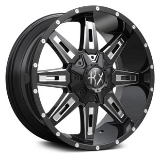 KX OFF-ROAD® - KX06 Gloss Black with Milled Spoke