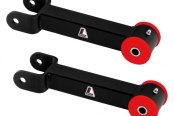 Lakewood® - Heavy Duty Boxed Fixed Rear Upper Control Arms with Polyurethane Bushings