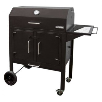 "Landmann® - Black Dog™ Charcoal and Fire Grill with Large Side shelf, 506"" sq Cooking Area"