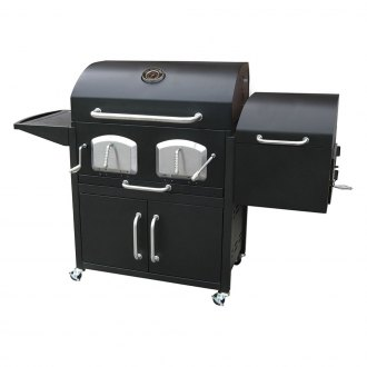 Landmann® - Bravo Premium Charcoal Grill with Offset Smoker Box