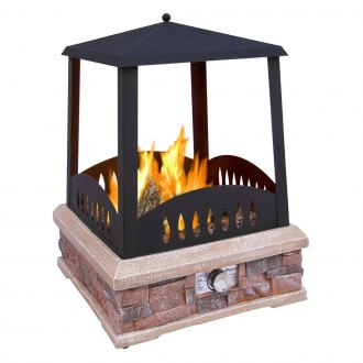 Landmann® - Grandview Outdoor Gas Fireplace