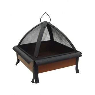 "Landmann® - 24"" Tudor Fire Pit Sturdy Steel Construction"