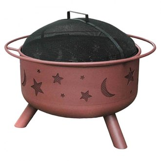 Landmann® - Big Sky Stars and Moons Fire Pit, Georgia Clay
