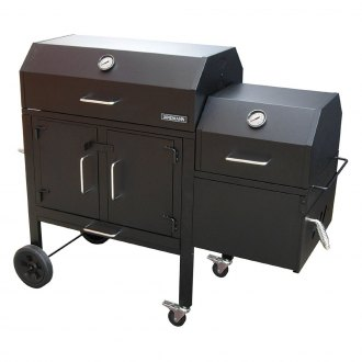 Landmann® - Black Dog 42XT Charcoal Grill and Smoker
