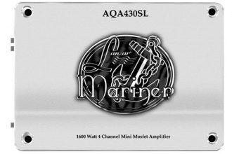 Lanzar® - Marine 4-Channel Series 1600W Silver Amplifier