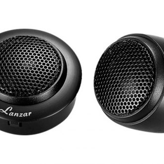 "Lanzar® - 1"" Distinct Series Soft 150W Dome Tweeters"