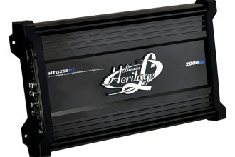 Lanzar® - Heritage Series Class AB 2-Channel Amplifier with Wireless Bluetooth Audio Interface