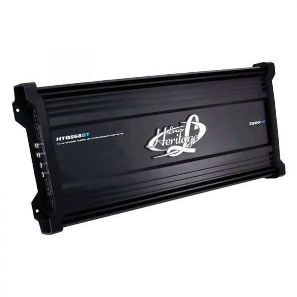 Lanzar® - Heritage Series Class AB 5-Channel 3000W Amplifier with Built-In Bluetooth