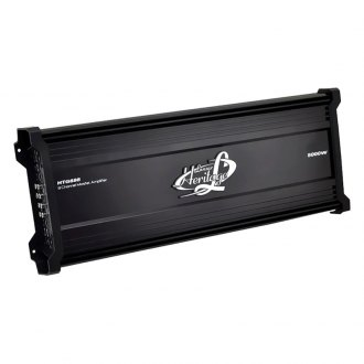 Lanzar® - Heritage Series Class AB 8-Channel 5000W Amplifier