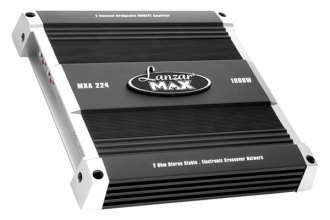 Lanzar® - Max Series Class AB 2-Channel 1000W Amplifier