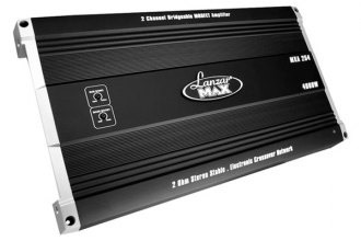 Lanzar® - Max Series Class AB 2-Channel 4000W Amplifier