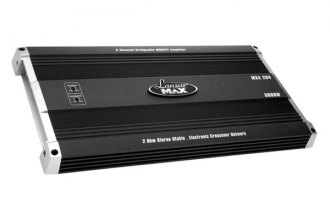 Lanzar® - Max Series Class AB 2-Channel 5000W Amplifier