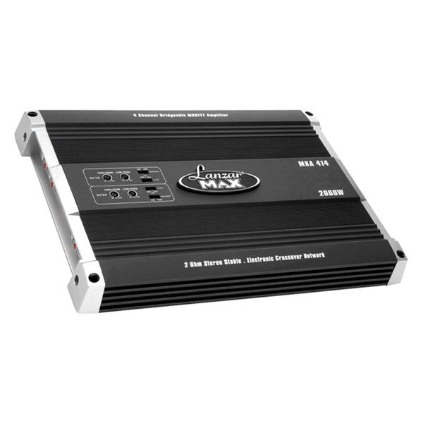 Lanzar® - Max Series Class A/B 4-Channel 2000W Amplifier