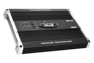 Lanzar® - Max Series Class AB 4-Channel 2000W Amplifier