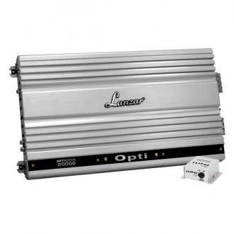 Lanzar® - OptiDrive Series Class D Mono 2000W Amplifier