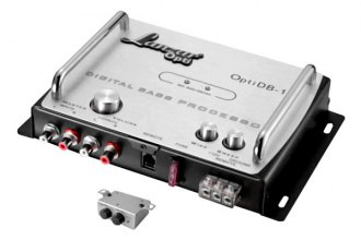 Lanzar® - Opti Series Dash Mount Digital Bass Processor Control