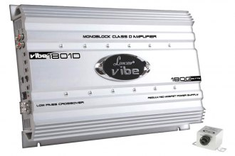 Lanzar® - Vibe Series Class D Monoblock 4-Channel 1800W Amplifier