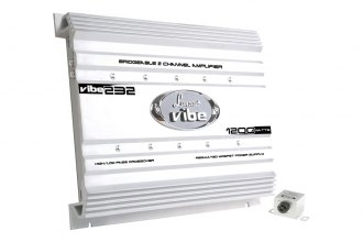 Lanzar® - Vibe Series Class AB 2-Channel 1200W Amplifier